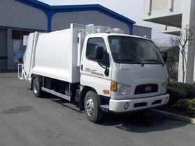 Вид 0: Hyundai HD 78 Long мусоровоз c задней загрузкой
