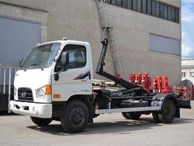 Вид 0: Hyundai HD 78 мультилифт МПР-5Т Palfinger