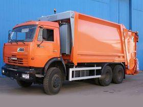 Вид 0: Камаз /Volvo/Scania шасси с мусоровозом