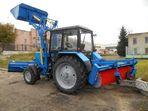 Беларус 82.1 уборочная машина с погрузочным оборудованием ГР-03