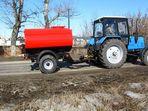 Трактор МТЗ 82 с цистерной ПУ-3.5