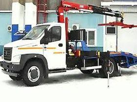 Вид 0: Эвакуатор с КМУ на шасси ГАЗон NEXT