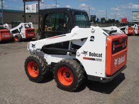 Вид 0: Bobcat S510 с гидромолотом