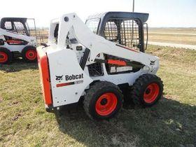 Вид 0: Bobcat S570 фронтальный погрузчик